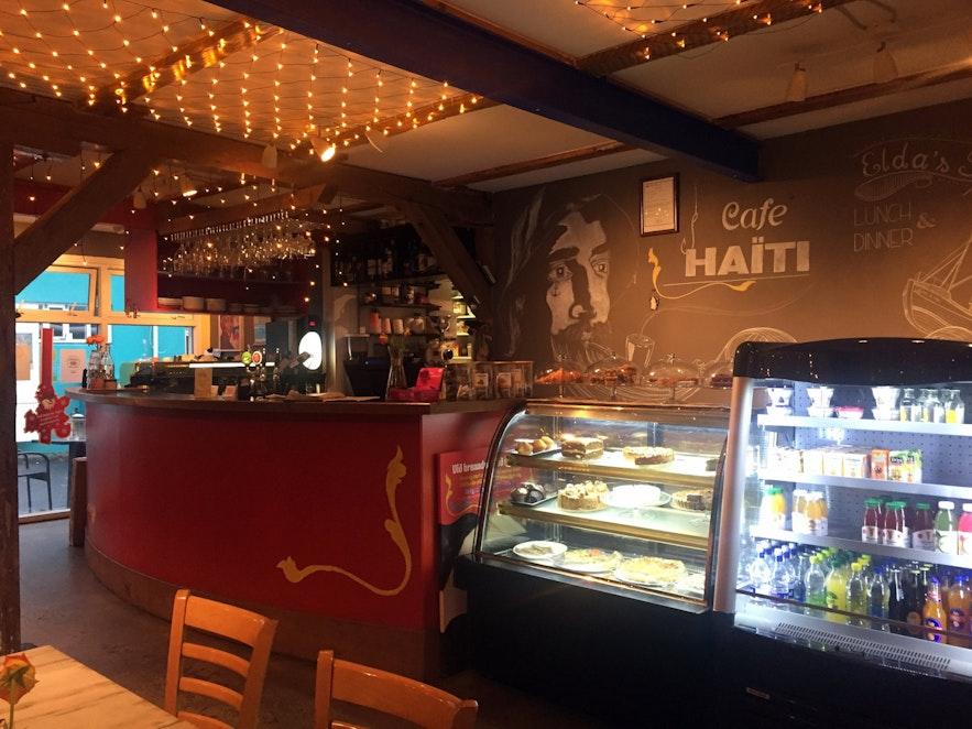 Cafe Haiti in Reykjavik