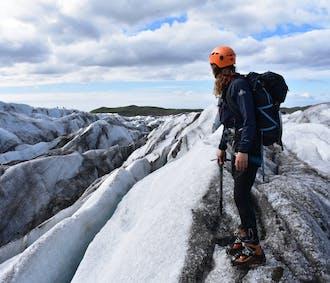 ปีนธารน้ำแข็งที่สกาฟตาเฟล  เดิน 3 ชั่วโมง
