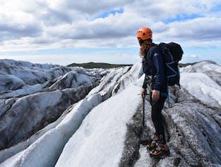 Wędrówka po lodowcu Skaftafell - średni poziom trudności