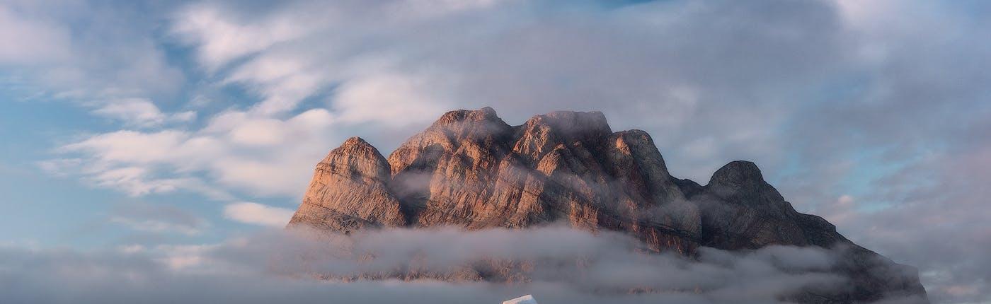 Cudowne widoki na Grenlandii