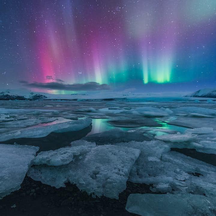 冰岛冬季旅行团五日优惠套票|黄金圈南岸三日游+斯奈山两日游|三大国家公园+蓝冰洞