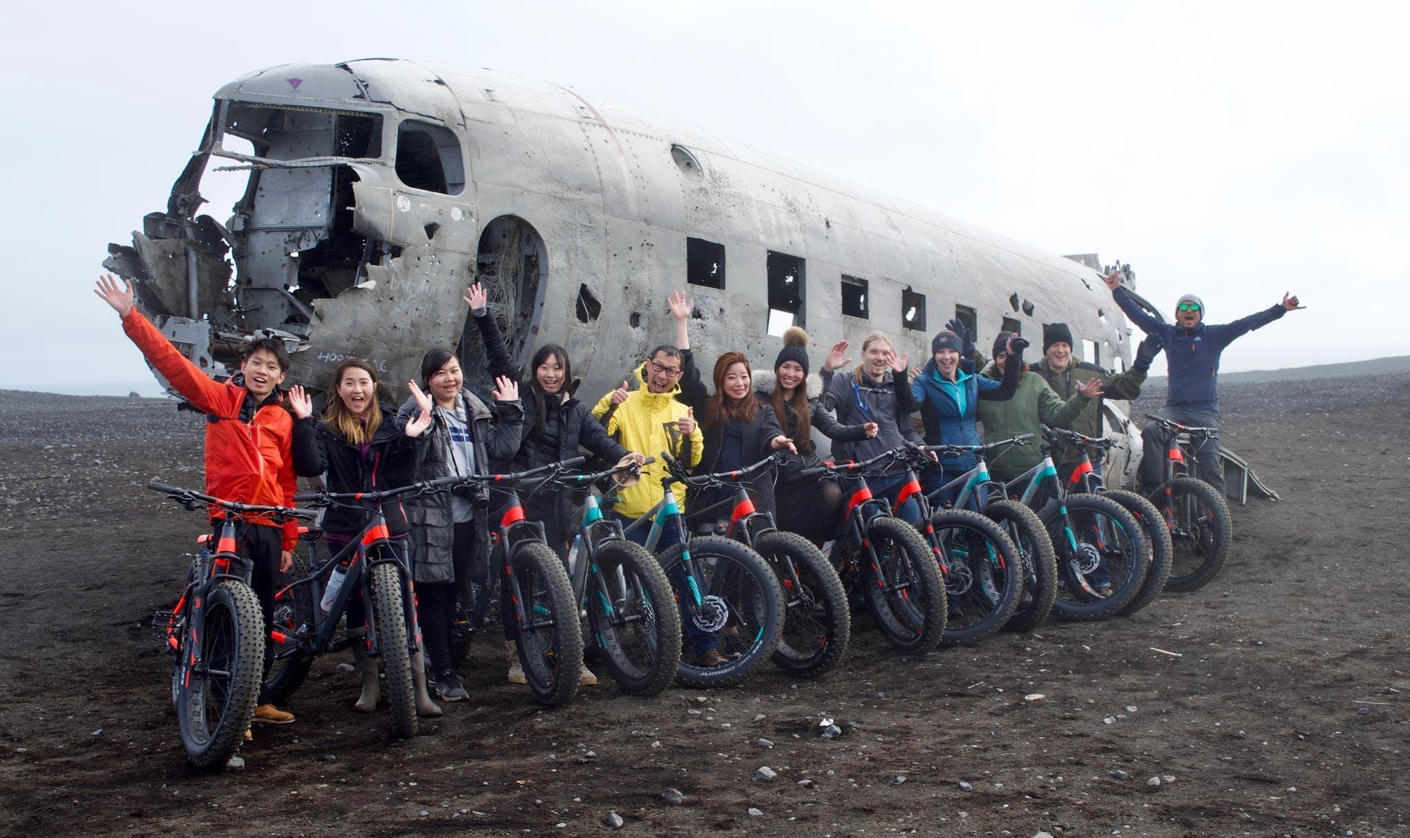 Discount Tour Combo   Snaefellsnes, Golden Circle, DC-3 Plane Wreck & Glacier Hike