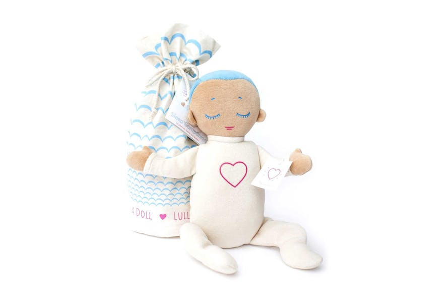 The doll is also designed as gender and colour neutral