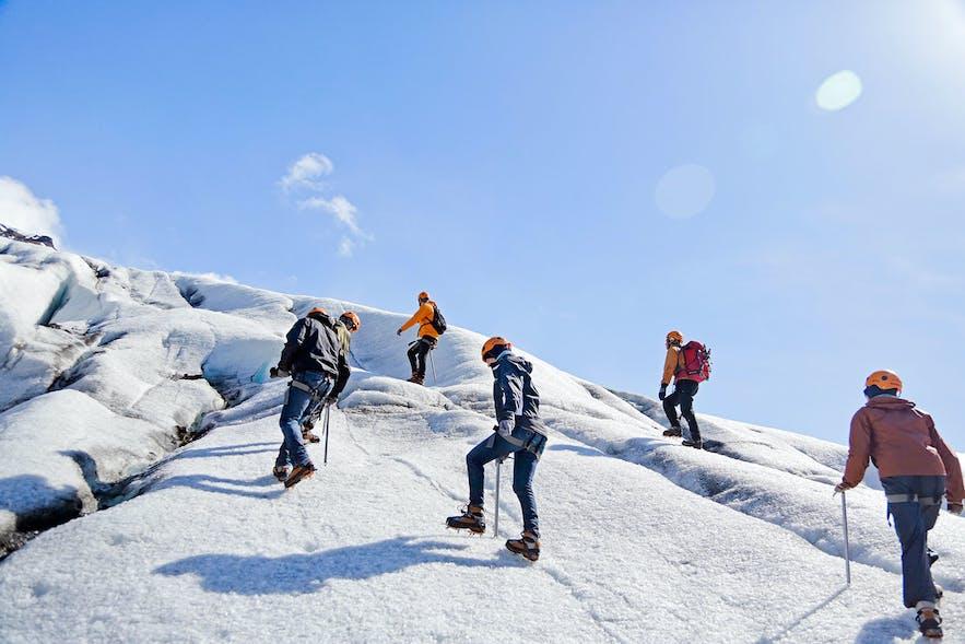 Glacier Hiking and Ice Climbing
