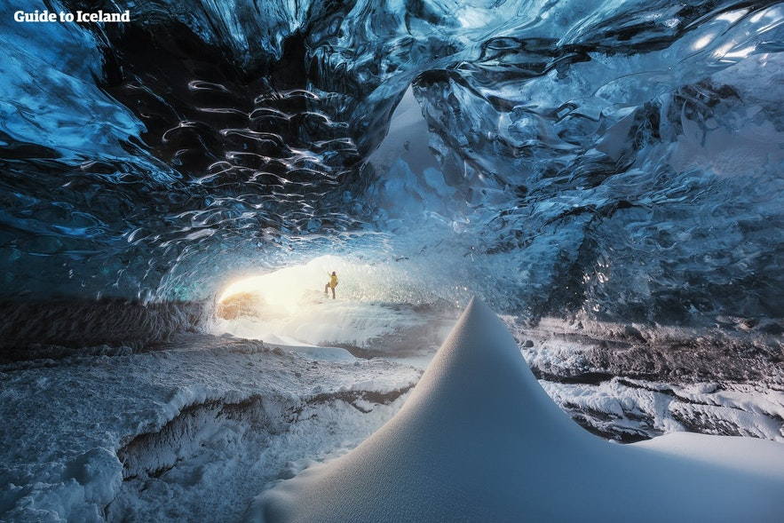 Venture into an authentic ice cave.