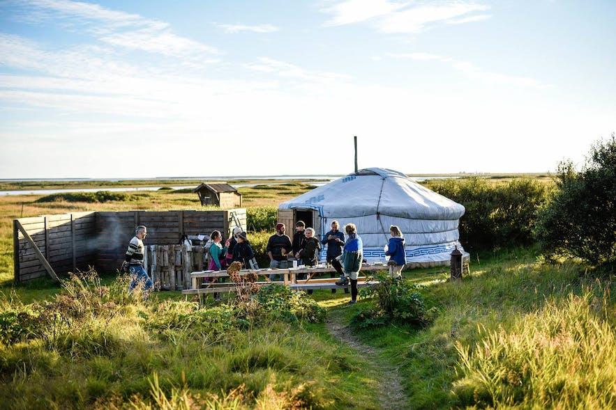La communauté est une partie importante de la culture des sagas en Islande