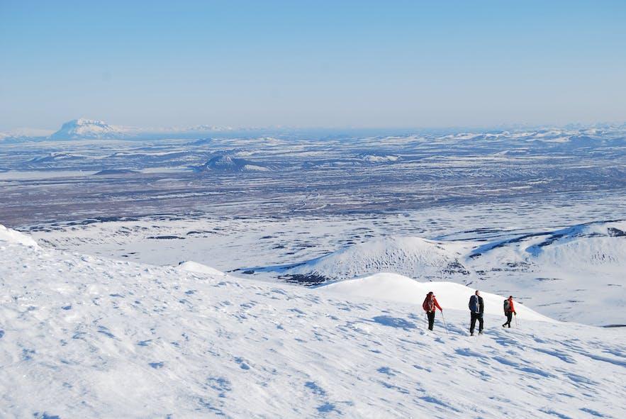 Die atemberaubende Aussicht vom Mount Snæfell
