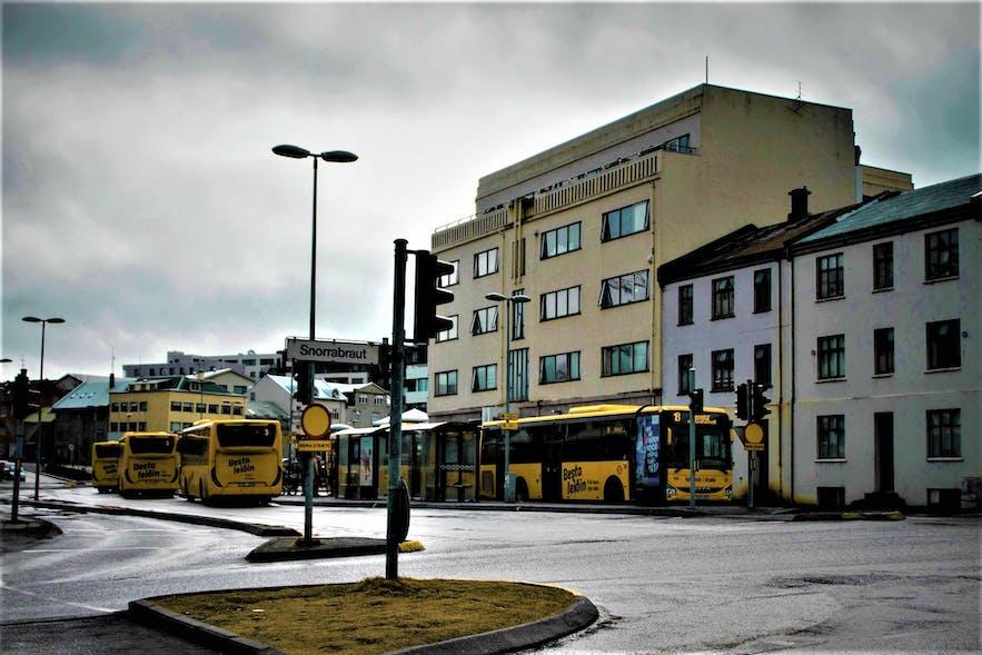 Right across from Hlemmur is the Reykjavík Central Police Station