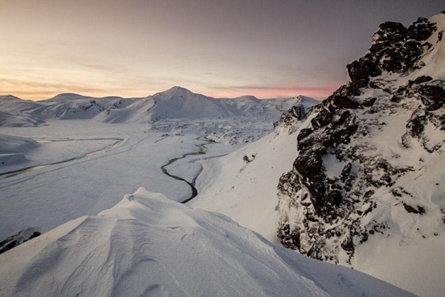 冰岛内陆高地兰德曼纳劳卡冬季旅行团