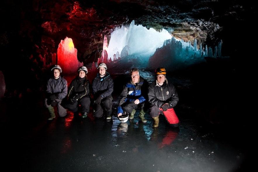 冰岛Lofthellir洞穴