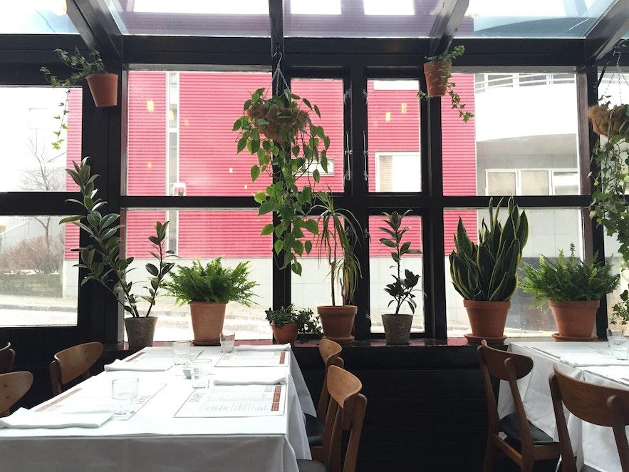 浪漫的雷克雅未克餐厅Snaps