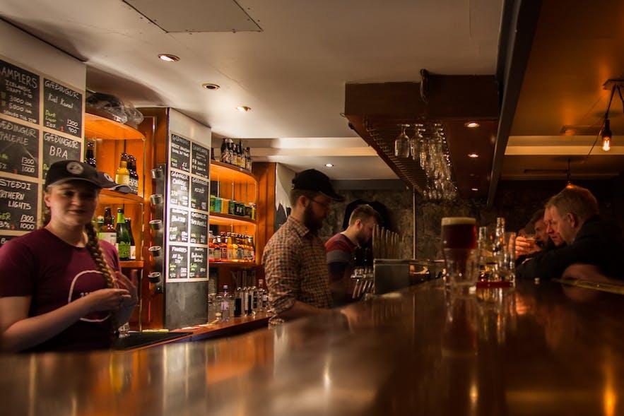冰岛雷克雅未克精酿啤酒酒吧MicroBar