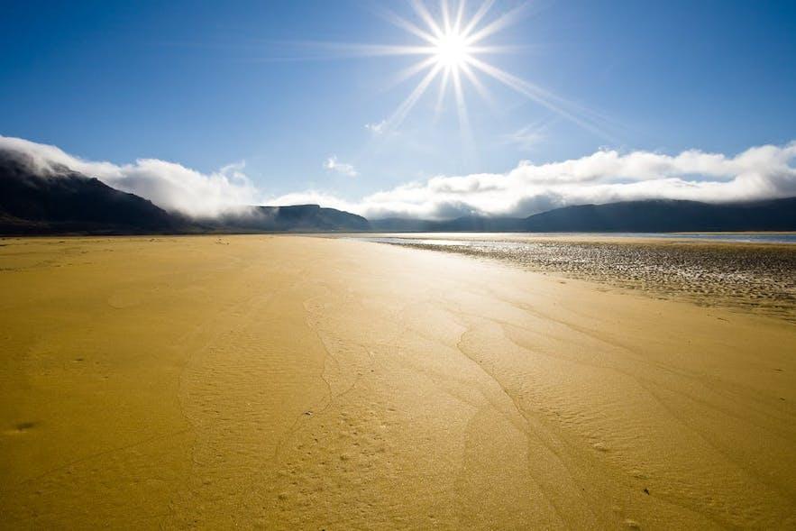 西峡湾Rauðasandur红沙滩