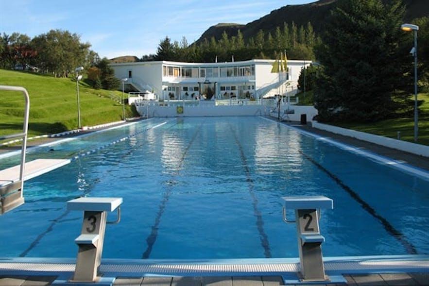 冰岛温泉泳池Laugaskarð,Hveragerði镇