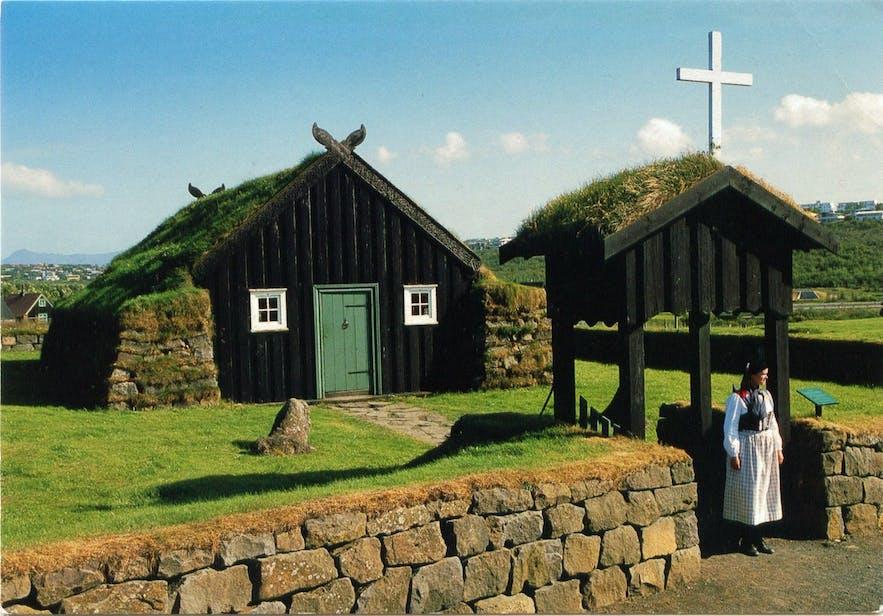 Das Freiluftmuseum Árbærjarsafn bietet einen tollen Einblick in das Leben vergangener Zeiten