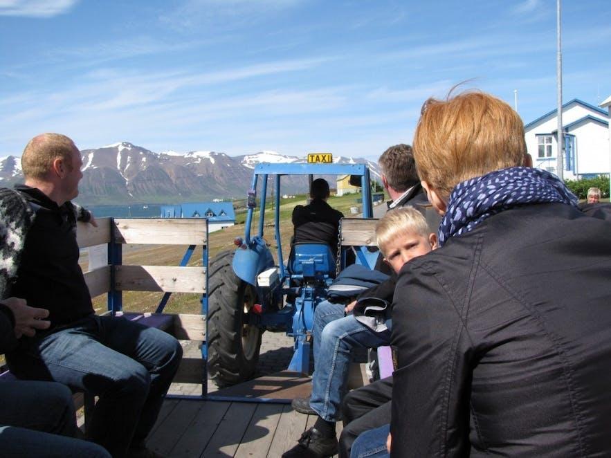 冰岛北部Hrísey岛
