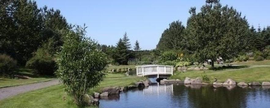 The Botanical Garden located in Reykjavik, Iceland