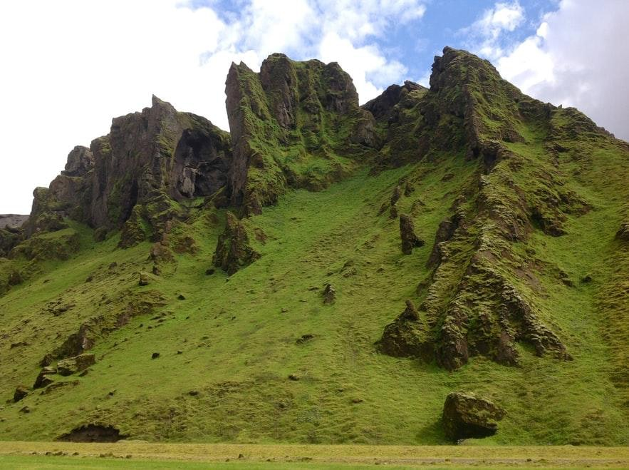 Der Campingplatz bei Þakgil