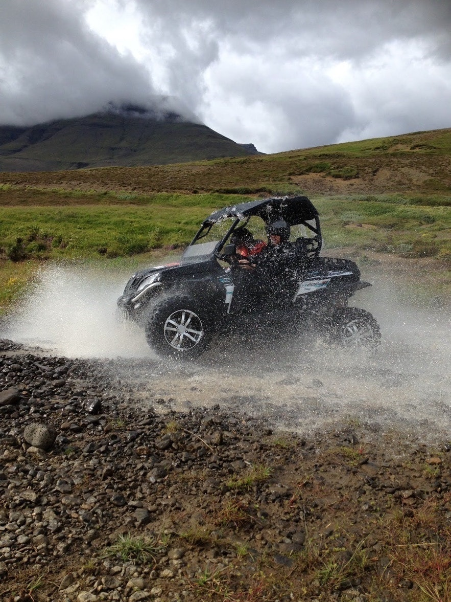 A buggy tour at the ATV base camp 20 minutes from Reykjavik