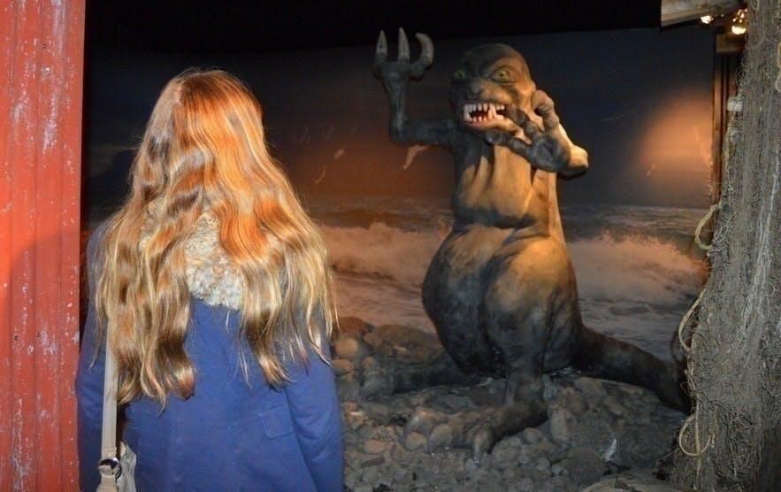 The Icelandic Sea Monster Museum at Bíldudalur, Iceland / Photo by: Regína Hrönn Ragnarsdóttir