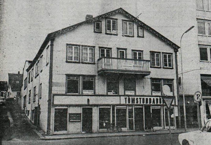 Kino Fjalakötturinn, centrum Reykjaviku.