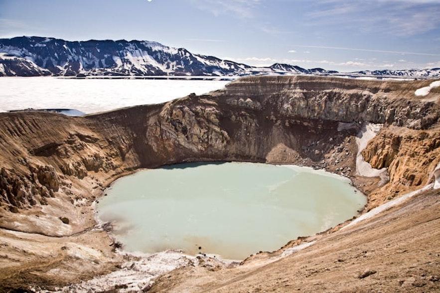 冰島Askja 火山