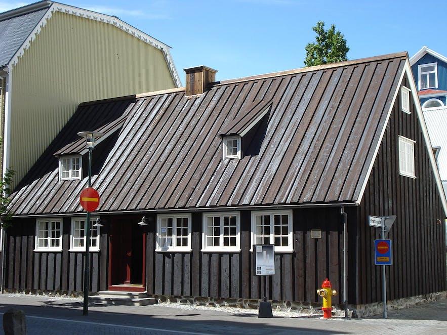 W czasie industrializacji ten dom służył jako fabryka wełny.