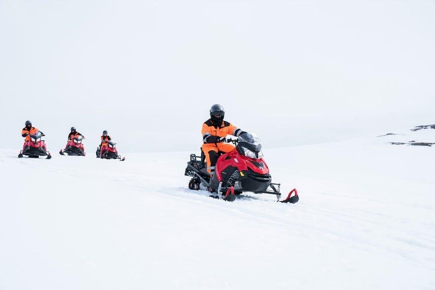 冰島雪地摩托/電單車