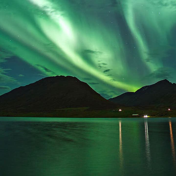 Northern Lights appear in a variety of colours, though they are most commonly seen in green.