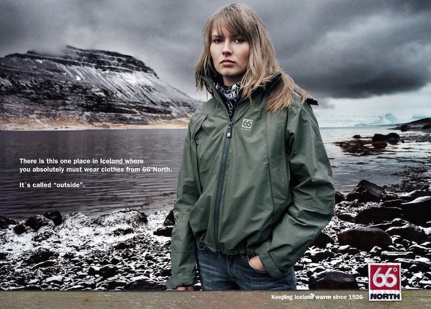 冰島國民品牌66N 廣告