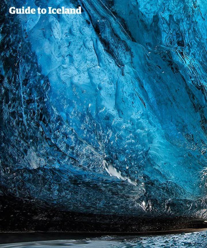冬季来冰岛一定要去蓝冰洞