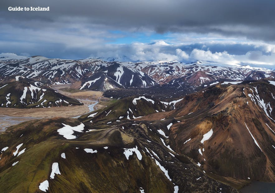 A unique perspective of the Central Highlands from above.