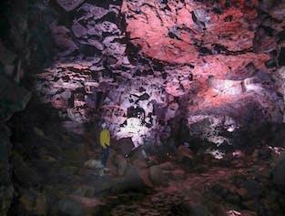 The Lava Tunnel | Raufarholshellir Caving Tour
