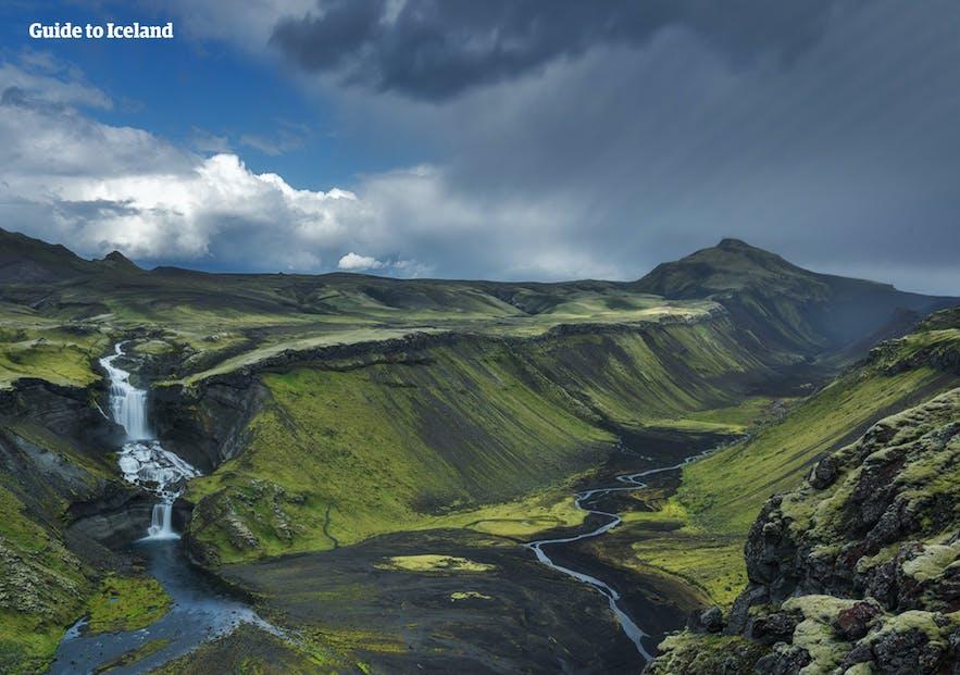 冰岛的大自然无与伦比