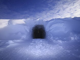 A l'intérieur d'un glacier | Tunnel de glace au glacier Langjökull