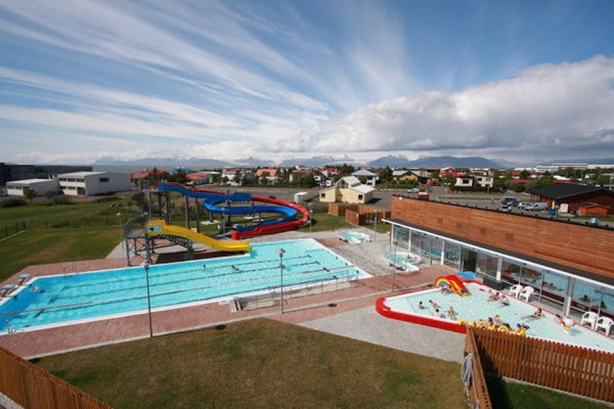 冰島赫本鎮(hofn) 游泳池