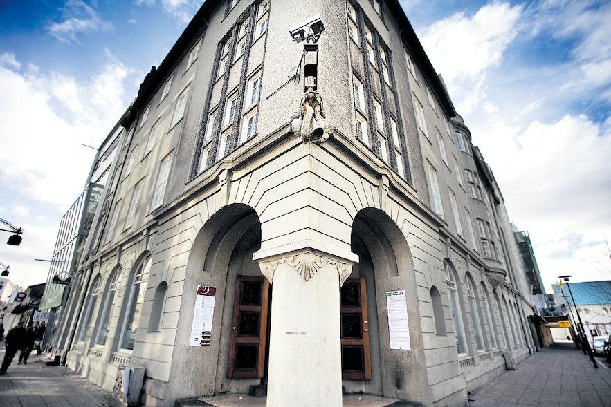 사무엘손의 초기 작품 중 하나인 아우스튀르스트라이티 16번지 건물