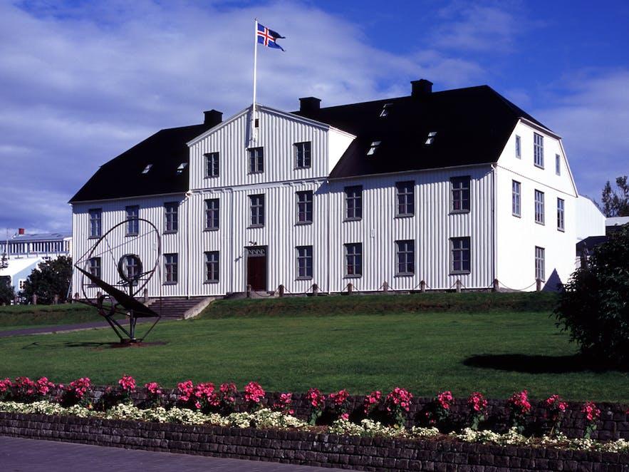 Menntaskólinn w Reykjaviku.