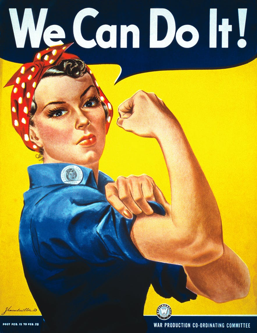 Rosie the Riveter helped start a worldwide cultural revolution that is dooming Iceland.