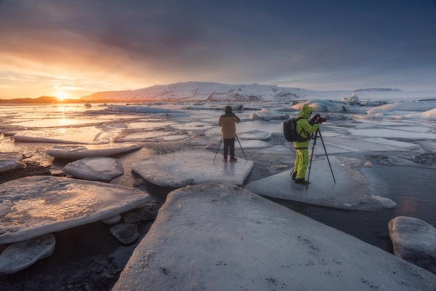 在冰岛参加摄影旅行团