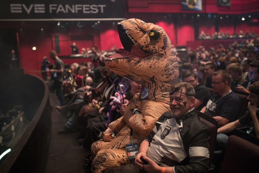 Das Eve-Fanfest ist ein Event mit vielen interessanten Charakteren