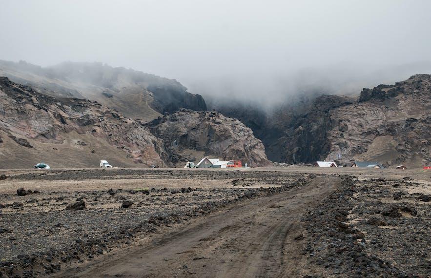 Day 19 of 3 Week Iceland Trip: Driving Holuhraun