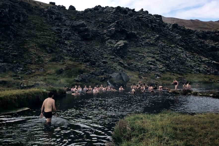 Dzień w Landmannalaugar