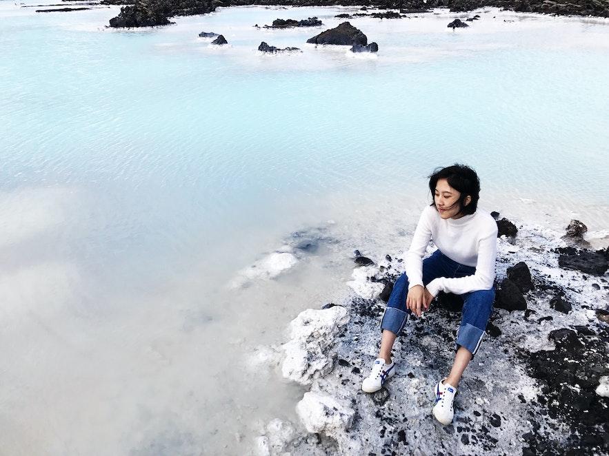 攝於冰島藍湖溫泉