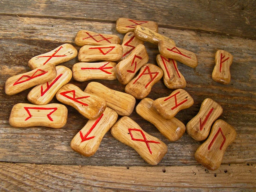 You can make your own fortune telling runes by carving or painting them on stone pebbles or pieces of wood