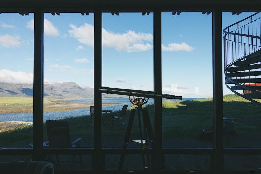 冰岛斯奈山半岛上的酒店Hotel Budir