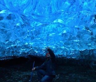 Visita alla grotta di ghiaccio naturale | Ghiacciaio di Breidamerkurjokull