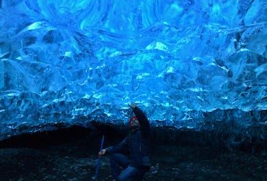 천연 빙하 동굴 투어 |브레이다메르쿠르요쿨 빙하