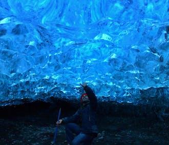 Tour a la cueva de hielo natural en el glaciar Breiðamerkurjökull