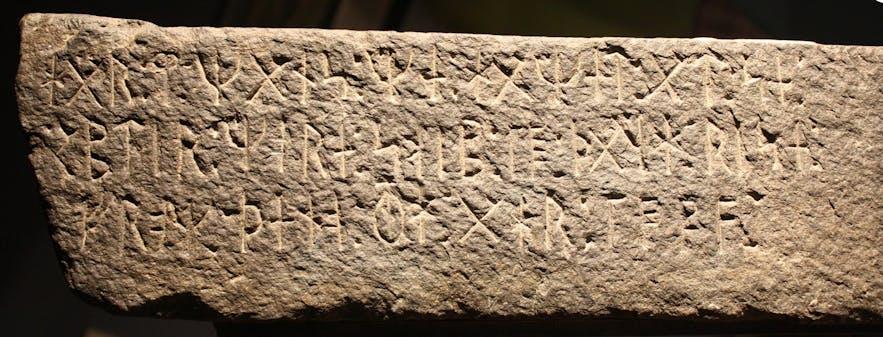 A Viking-Age runestone
